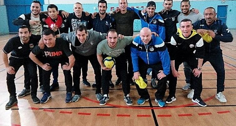 U8U8Educateurs équipes U6-U7 tournoi futsal CAP février 2018