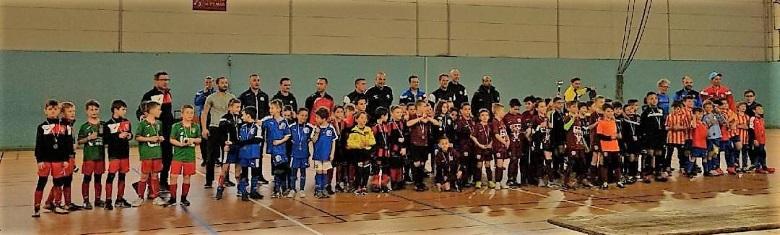 U8U8Equipes U8 U9 tournoi Futsal février 2018