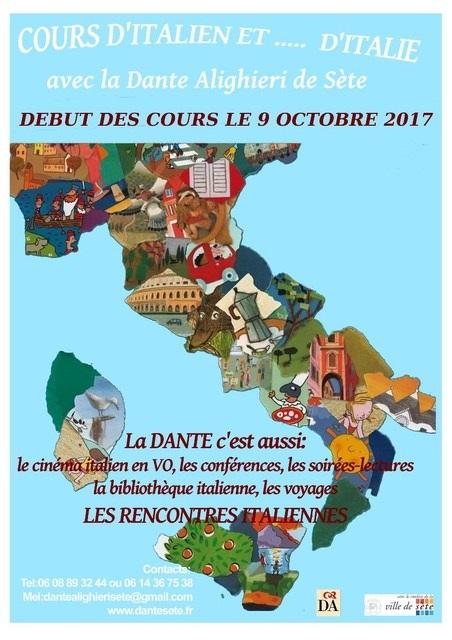 Dante 2017 Affiche-rentree-17-18