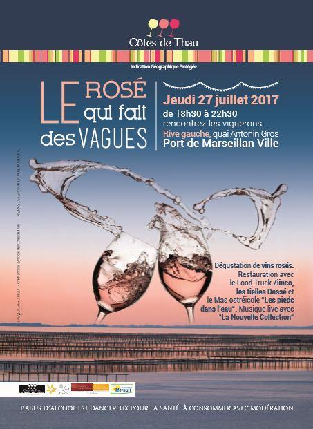 Dasse Rosé Marseillan vers le 10 juilletCapture