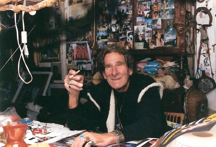 Lolo dans sa cabane 1994