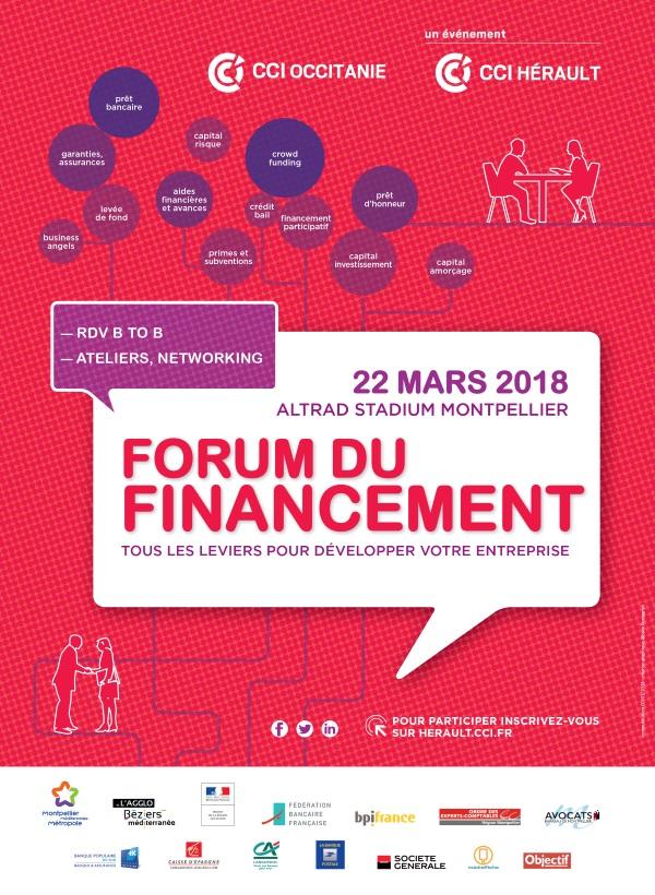 Affiche Forum Financement_CCI Herault_22032018