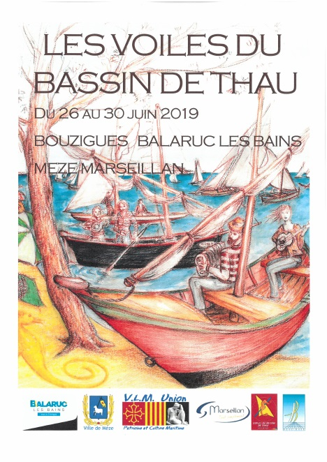 VOILE BASSIN THAU