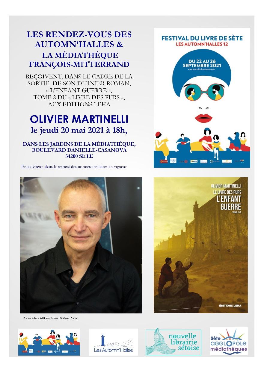 Rendez-vous Automn'Halles affiche Martinelli