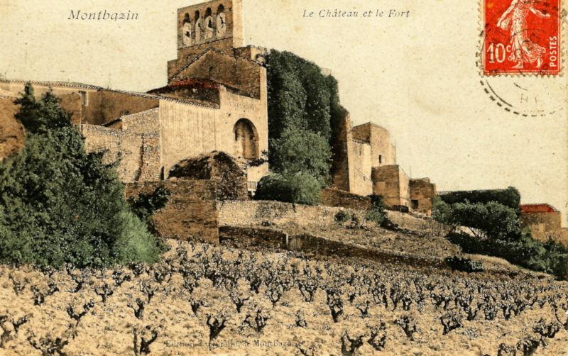 montbazin chateau-couleur